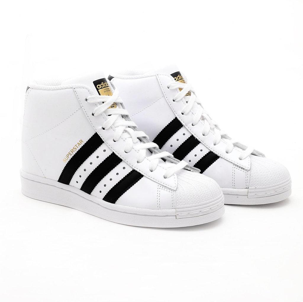 Adidas Superstar Up Bianca con Bande Nere