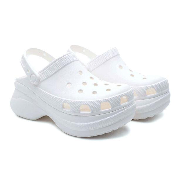 Crocs Classic Bae Clog Bianco