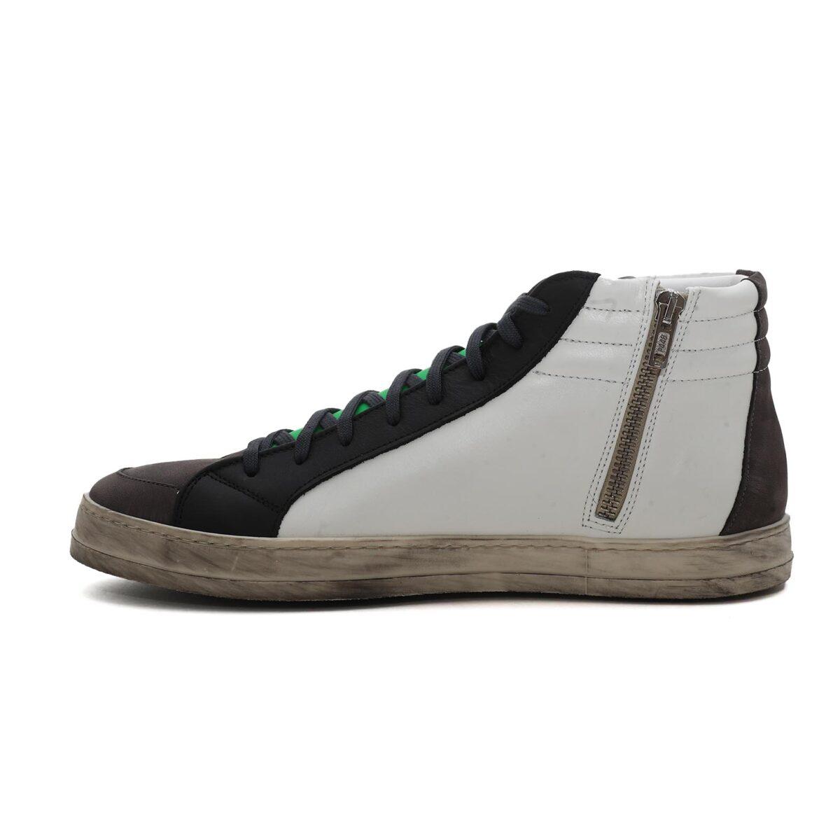 P448 Skate-M Bianco-Grigio