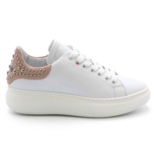 Sneaker Unicorno Bianco-Sabbia